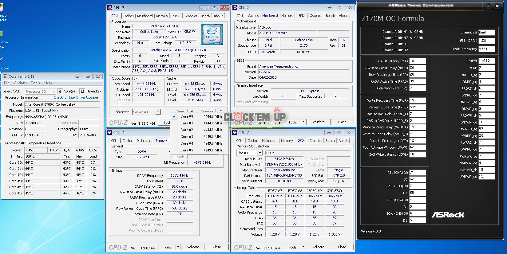 3700x Vs 8700k