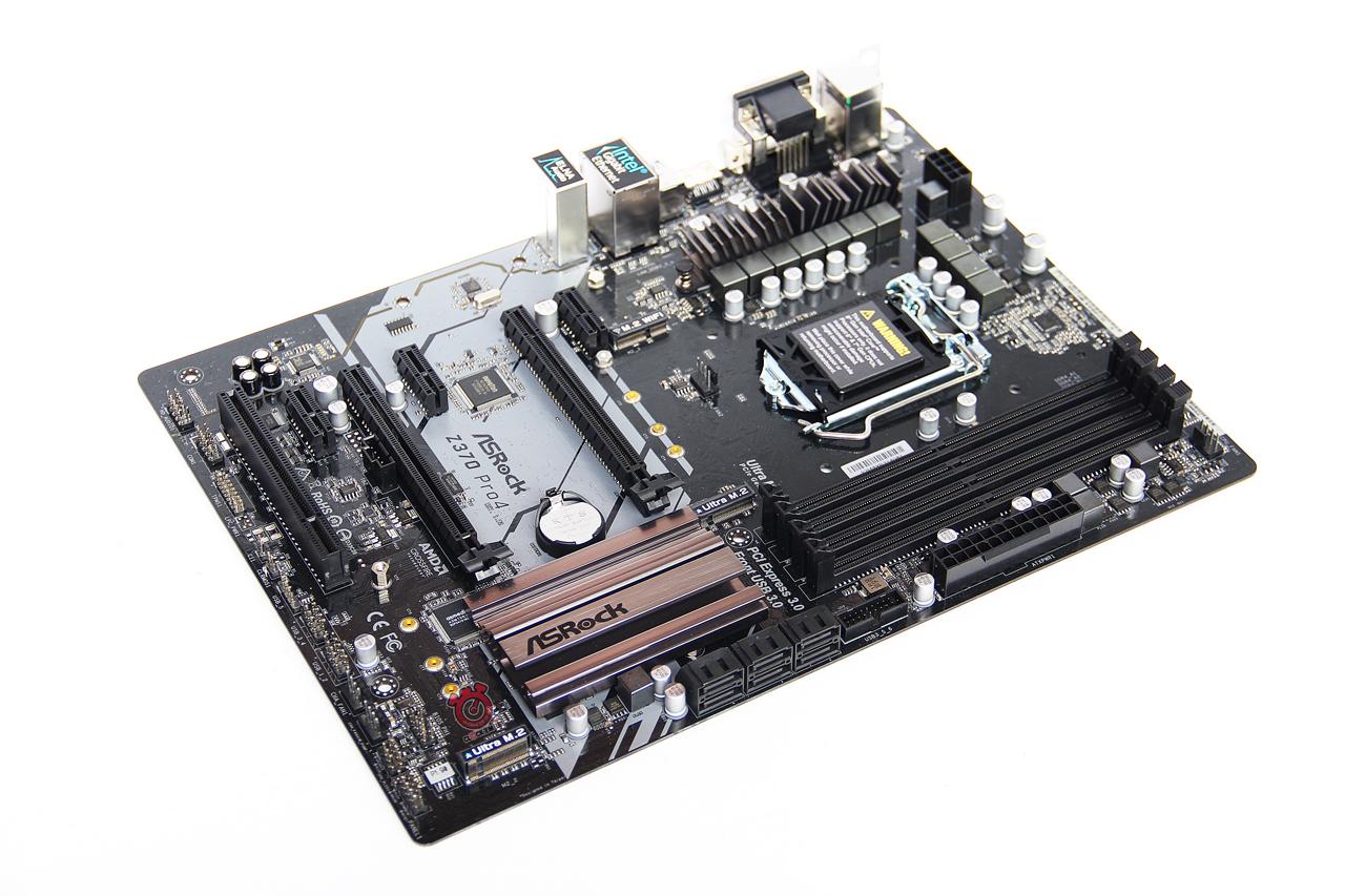 ASROCK Z370 Pro4 Motherboard Review - CLOCK'EM UP