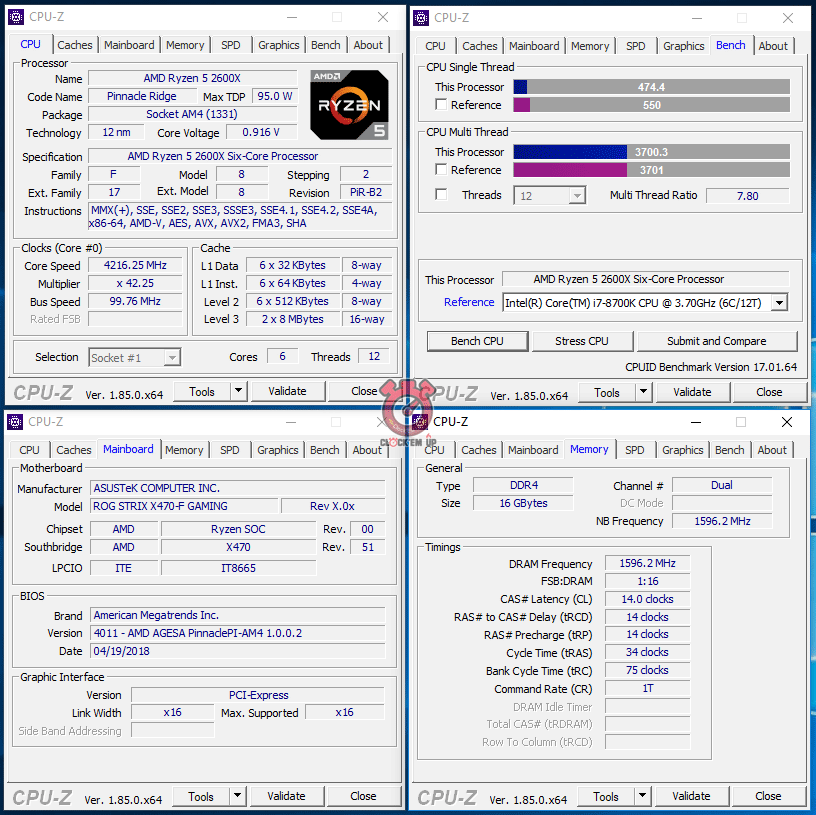 AMD RYZEN 7 2700X & RYZEN 5 2600X Processors Review - Page 4 of 8