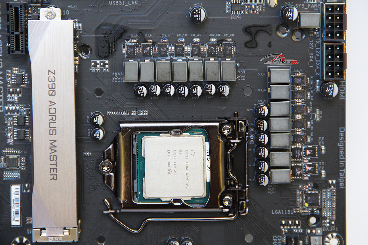 GIGABYTE Z390 AORUS MASTER Motherboard Review - Page 2 of 9