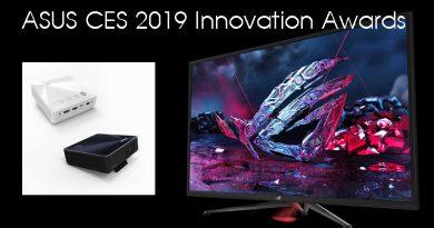 ASUS ได้รับรางวัล CES 2019 Innovation Awards ในกลุ่ม gaming และ Computer Peripherals