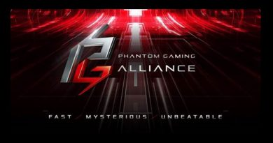 ASRock ประกาศเปิดตัว Phantom Gaming  โดยร่วมมือกับ Cooler Master และ TEAMGROUP ในงาน CES 201