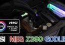 รีวิวเมนบอร์ด MSI MEG Z390 GODLIKE ชุดใหญ่ไฟกระพริบ