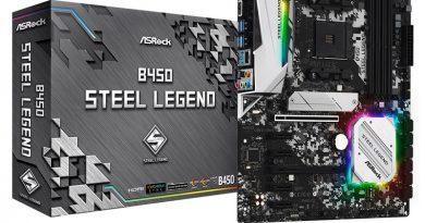 ASRock B450 Steel Legend เมนบอร์ดปรับแต่งได้  ไลฟ์สไตล์คอเกมและนัก OC