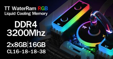 รีวิว Thermaltake TT WaterRam RGB DDR4-3200Mhz 16GB-Kit