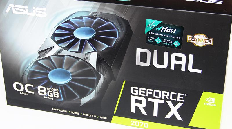 รีวิว ASUS Geforce RTX 2070 DUAL OC Edition 8GB GDDR6