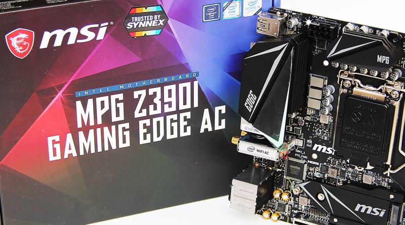 รีวิว MSI MPG Z390I GAMING EDGE AC
