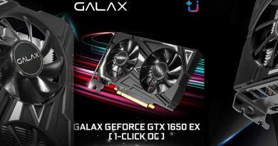 บริษัท เอสเซนตี้ รีซอร์สเซส จำกัด เปิดตัวกราฟิกการ์ดรุ่น GALAX GTX 1650 EX 1-Click OC