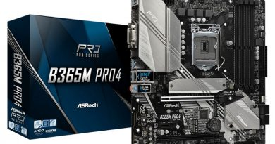ASRock B365M Pro4 เมนบอร์ดมือโปร ฟีเจอร์ครบ จบทุกความต้องการ