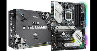 ASRock เสริมทัพ Steel Legend series  ด้วยเมนบอร์ด Z390 รุ่นใหม่
