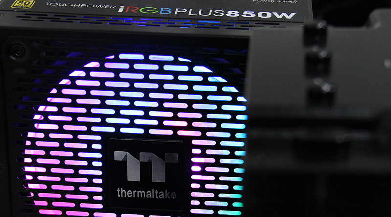 รีวิว Thermaltake TT ToughPower iRGB PLUS 850Watt PSU