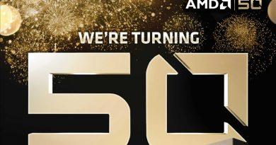 "AMD ฉลองครบรอบ 50 ปี ด้วยผลิตภัณฑ์ใหม่ ""Gold Edition"""