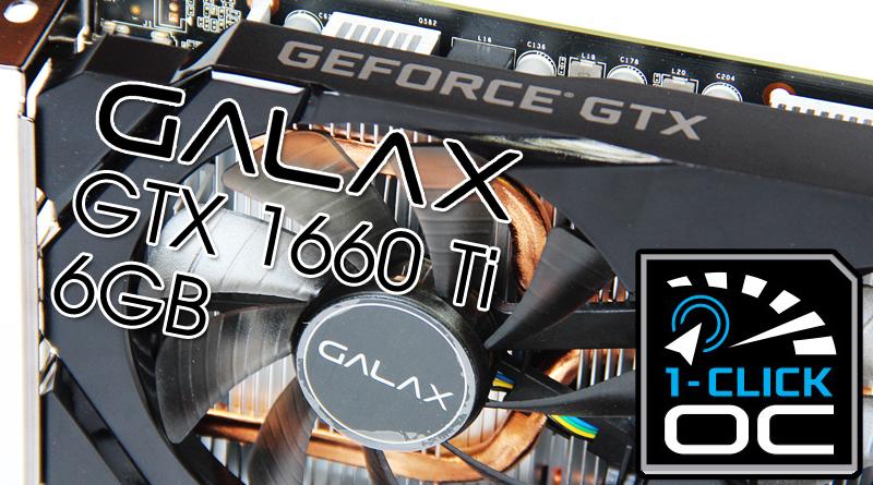 รีวิว GALAX GTX1660 Ti 6GB 1-Click OC