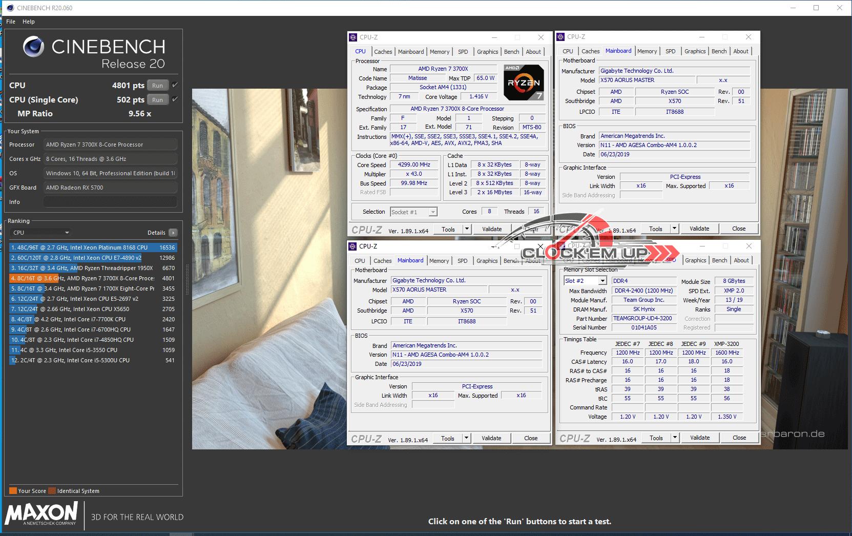 รีวิว CPU AMD RYZEN 7 3700X 8Core 16Thread 7nm Processor