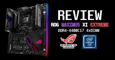 รีวิวเมนบอร์ด ROG MAXIMUS XI EXTREME (Z390)