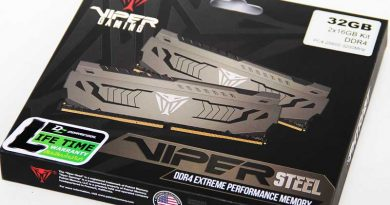 รีวิวแรมงูพิษ VIPER STEEL DDR4-3200Mhz CL16-18-18-36 32GB-KIT 16GBx2 1.35v