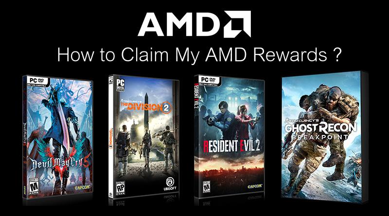 สอนวิธี Redeem Code เกมของ AMD My Rewords