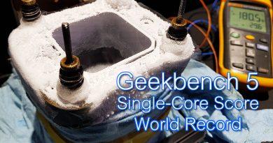 Intel Core i7-9700KF ทุบสถิติโลก Geekbench 5 Single-Core Score ในงาน TGS 2019