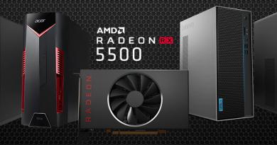 AMD เปิดตัวกราฟิกการ์ด Radeon™ RX 5500 Series ความคมชัดของภาพที่เหนือกว่า ฟีเจอร์การทำงานชั้นเยี่ยม และประสบการณ์การเล่นเกมประสิทธิภาพสูง