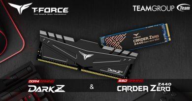 TEAMGROUP เปิดตัว T-FORCE DARK Z α DDR4 Gaming Memory และ CARDEA ZERO Z440 PCI-E Gen4 x4 M.2 SSD