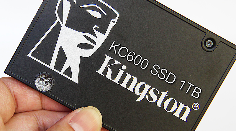 รีวิว Kingston KC600 SSD 1TB SATA3.0 6Gb/s