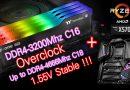 แรมรุ่นเล็ก TT TOUGHRAM Z-ONE RGB DDR4-3200 Overclock เพิ่มความเร็วบน AMD X570 Platform ได้มากถึง DDR4-4666Mhz แบบใช้งานได้จริง