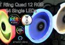 รีวิวพัดลมวิบวับ TT Riing Quad 12 RGB ที่มาพร้อมกับไฟ LED ถึง 54 ดวง