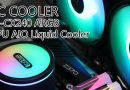 รีวิวชุดน้ำ AIO น้องใหม่ PC COOLER GI-CX240 ARGB CPU AIO Liquid Cooler