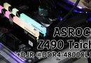 ASRock Z490 Taichi ปะทะ Hynix DJR @DDR4-4800CL18-26-26-46 แบบนิ่มๆ