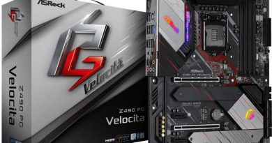 ASRock Z490 PG VELOCITA สัมผัสประสบการณ์ เมนบอร์ดดีไซน์ใหม่  เพิ่มพลัง Intel Gen 10 กับการเล่นเกมและ OC