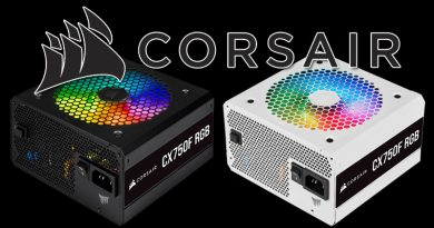 CORSAIR เปิดตัวพาวเวอร์ซัพพลาย CX-F RGB Series  จ่ายไฟนิ่งเสถียร พร้อมไฟพัดลมสีสันสะดุดตา!