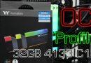 แจกโปรไฟล์ OC แรม TT ToughRAM RGB 2x16GB 4133C18