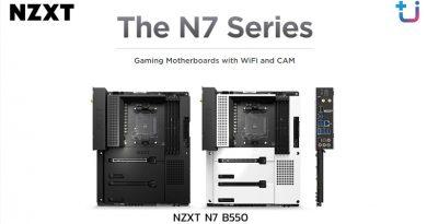 Ascenti Resources เปิดตัว Mainboard สุดพรีเมี่ยม NZXT N7 B550 เรียบหรูทุกรายละเอียดอัดแน่นทุกการใช้งาน